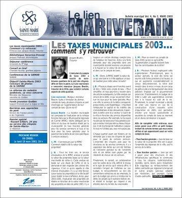 Bulletin de mars 2003 + Dossier spécial : Russell Gilbert