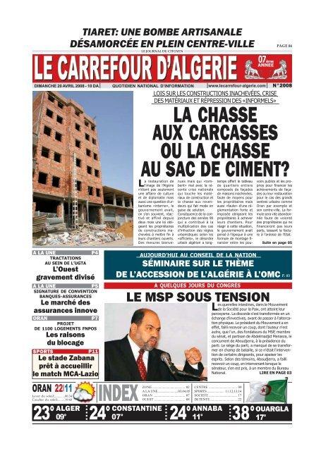 20 Le Carrefour Dalgérie