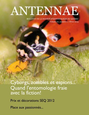 Antennae - Bulletin de la Société d'entomologie du Québec - Hiver ...
