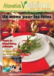 Numéro 98 (décembre 2009) - Association Végétarienne de France
