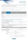 La gamme de lentilles mensuelles en silicone ... - techno-lens sa - Page 3