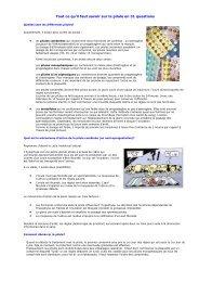 31 questions sur la pilule contraceptive - Bienvenue sur www ...