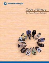 Code d'éthique - United Technologies
