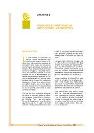 chapitre 8 politiques et stratégies de lutte contre la corruption - PNUD