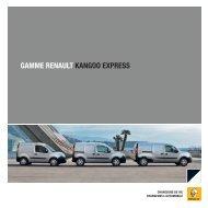 GAMME RENAULT KANGOO EXPRESS - Groupe Guilmault
