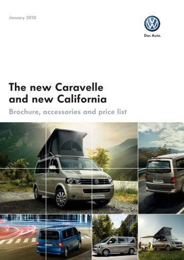 The new Caravelle and new California