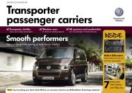 Transporter passenger carriers