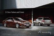E-Class Saloon and Estate - Mercedes-Benz Jamaica