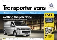 Volkswagen Transporter brochure. - John Clark Motor Group