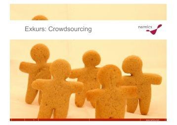 Exkurs: Crowdsourcing