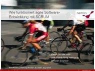 Wie funktioniert agile Software Entwicklung