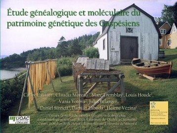 généalogique. - épidémiologie génétique et génétique des ...