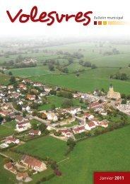 bulletin 2011 - Commune de Volesvres