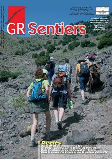 télécharger le numéro 184 de GR Sentiers ici - Les Sentiers de ...