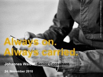 Always on. Always carried. [pdf, 8MB]