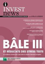 Bâle III et résultats des stress tests - BNP Paribas Fortis