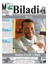 Interview Moulaye El Arbi à Biladi - RMI Biladi