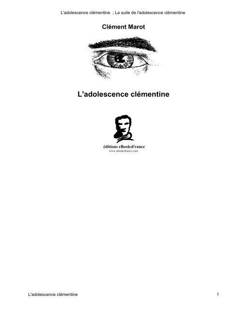 De ; L Suite La Clémentine L'adolescence 7gbYmfvIy6