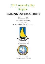 2011 Australia Day Regatta - Southern NSW Sabot Sailing Association