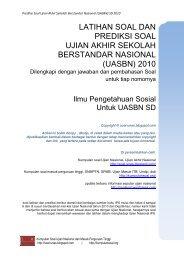 Prediksi soal IPS UASBN SD 2010