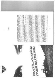 Francesco Carofiglio L'estate del cane nero ... - Studieskolen blog