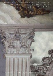 Ouvrir le fichier - Commission royale des Monuments, Sites et ...