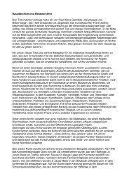 """""""Hauptwege und Nebenwege"""", das 1929 - Blog"""