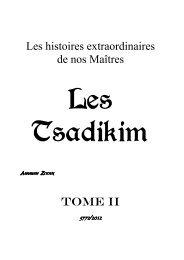 Les Tsadikim - TorahVrai