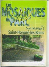 Saint-Honoré-Ies-Bains - Vents du Morvan