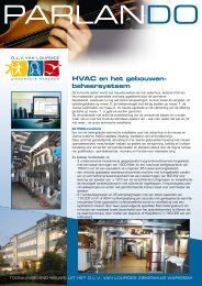 Hvac en het gebouwen- beheersysteem - SeniorenNet