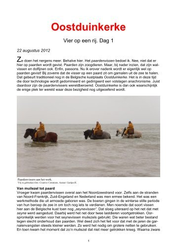 Oostduinkerke - Bloggen.be