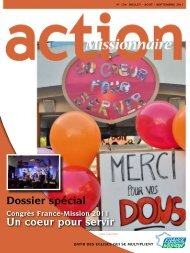 Action Missionnaire n°134 - France Mission