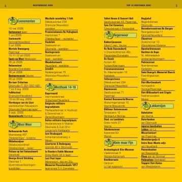 Evenementen Mooi Weer Westhoek 14-18 ... - SeniorenNet