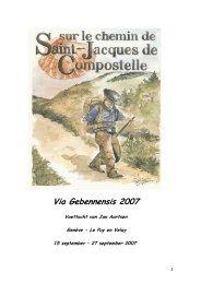 Via Gebennensis 2007 - SeniorenNet