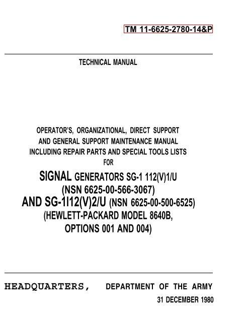 Hewlett Packard Operating /& Service Manual for 3439A Digital Voltmeter