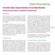 Oost-Vlaanderen - SeniorenNet