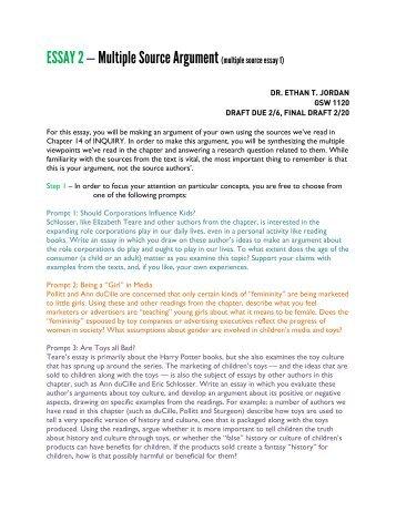 argument topics for essay