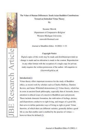 environmental ethics in buddhism