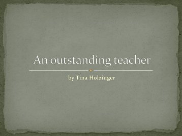 An outstanding teacher_Lucy Cripps - BGSU Blogs