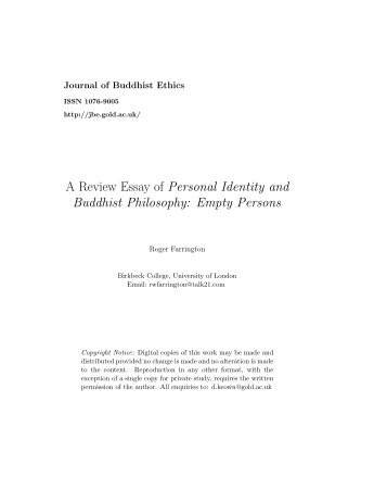 musical identities and music education a review essay a review essay of personal identity and buddhist dickinson