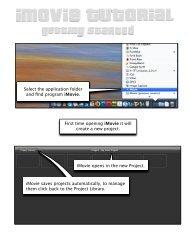 iMovie 9 Tutorial - Dickinson Blogs
