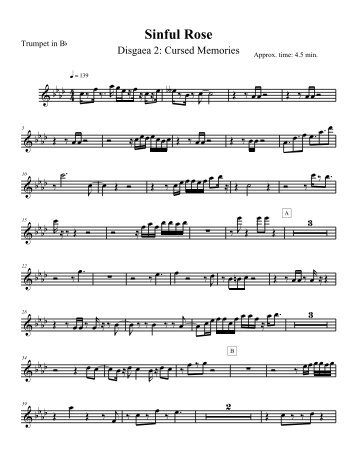 Sheet Music - BGSU Blogs