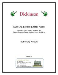 ASHRAE Level II Energy Audit: Summary Report - Dickinson Blogs ...