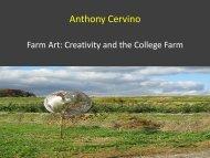 Creativity and the College Farm - Dickinson Blogs - Dickinson College