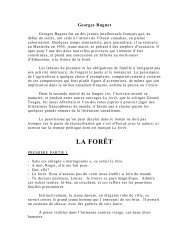 La forêt - Georges Bugnet - ataoc