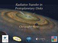 Radiative Transfer in Protoplanetary Disks