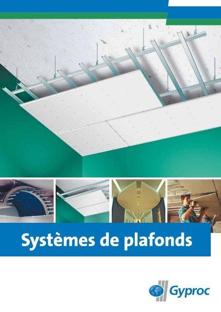 Systèmes De Plafonds Gyproc