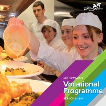 Vocational Programme Vocational Programme