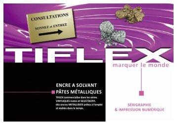 Télécharger notre fiche produit (PDF, 331 Ko) - Tiflex