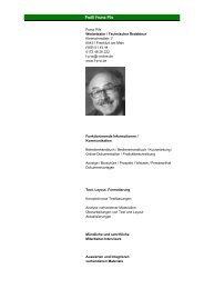 Profil Franz Pils